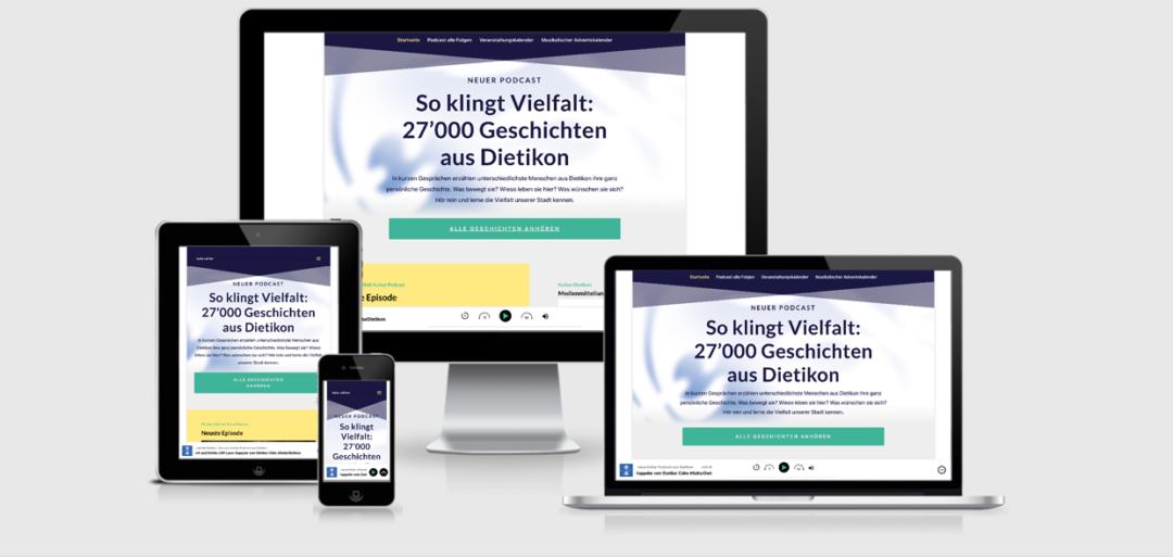 Kulturdietikon.ch & Podcast